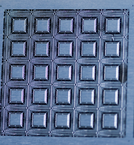 photo etched microelectronics leadframe