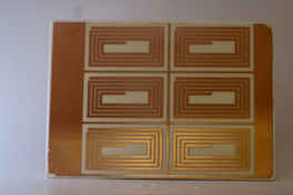 Photo etched DBC circuit, photo etched direct bond copper